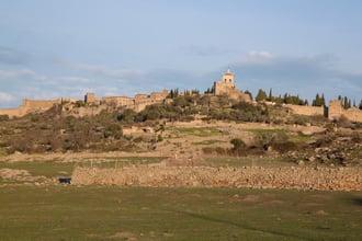 Ancient village in Europe