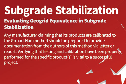 Subgrade-Stabilization