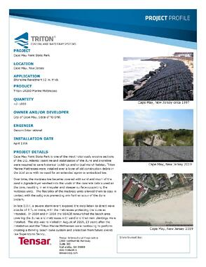 Cape May Project Profile Final