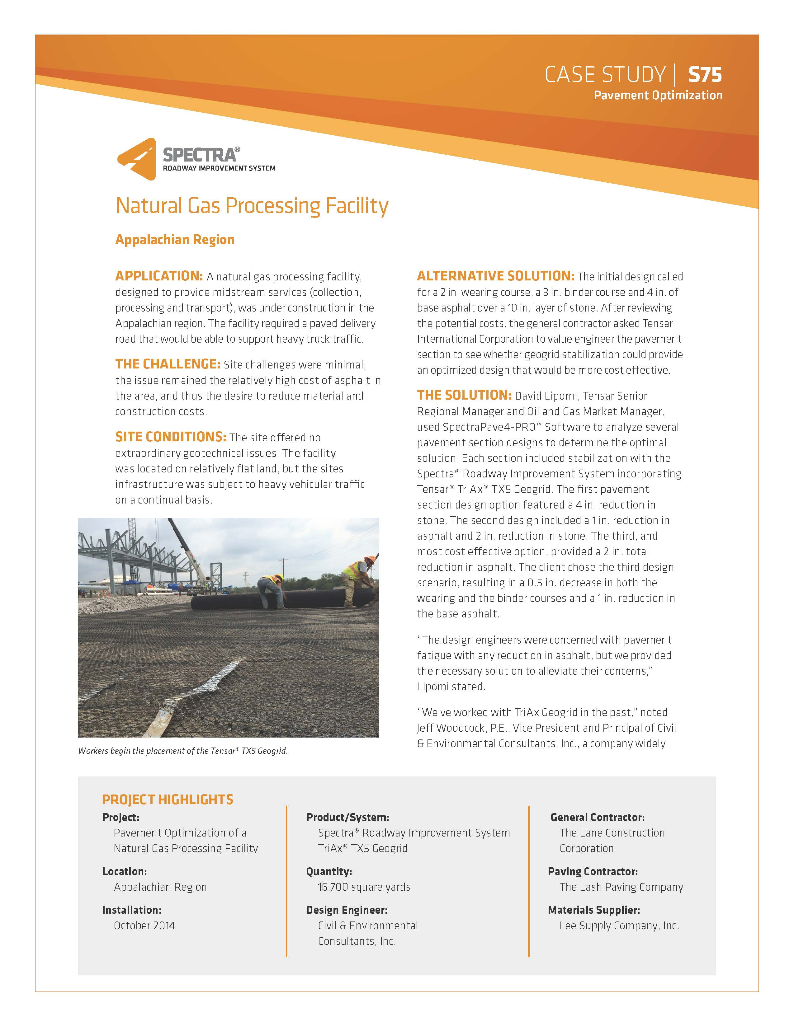 Natural Gas Condensate Facility Case Study_Page_1