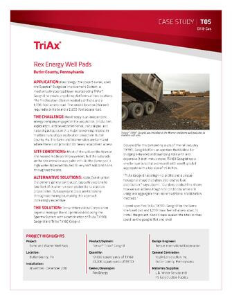 Reduce aggregate requirement for well pad
