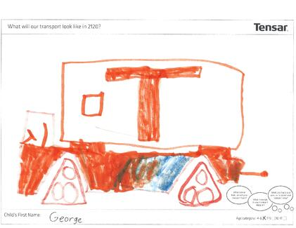 Tensar 2120 Transportation - George drawing