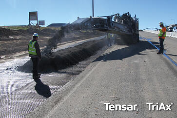 Tensar TriAx Geogrid, Versatile New Option for Recycled Asphalt Pavement (RAP)