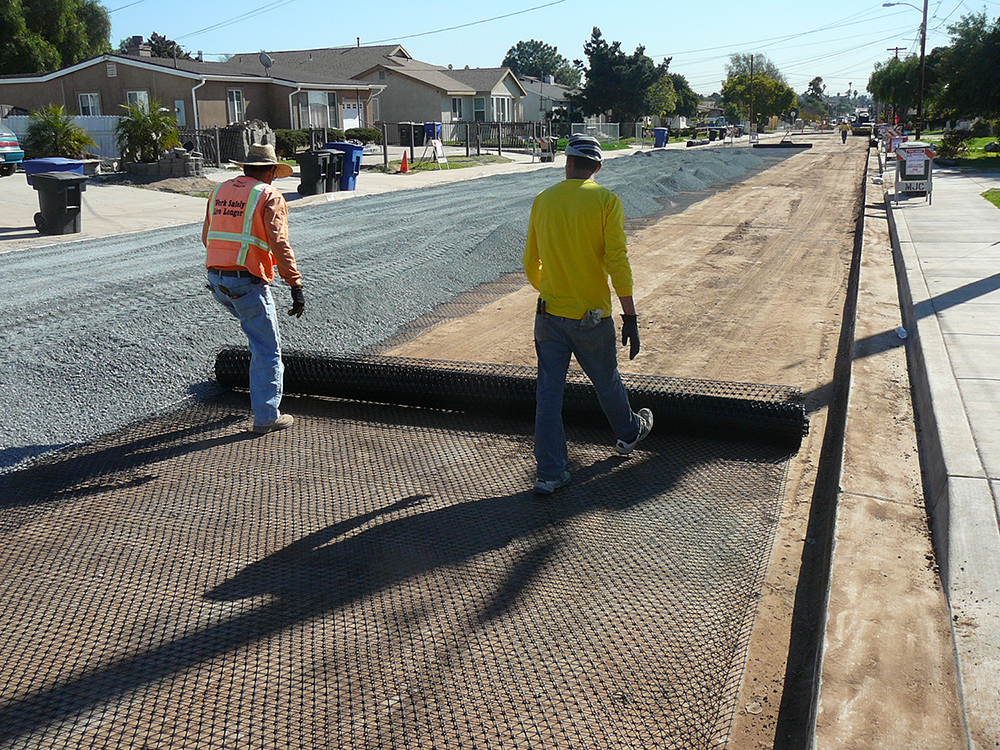 1st Avenue Chula Vista 1 with Tensar TriAx Stabilization