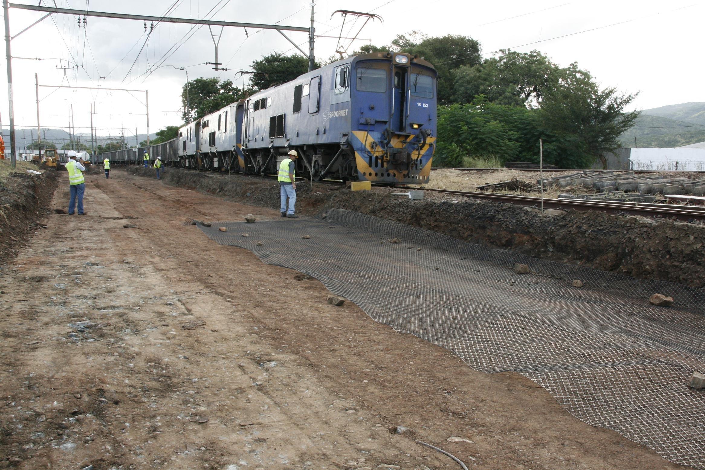 Tensar Rail Trackbed Solutions