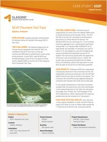 NCAT Pavement Test Track