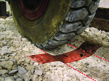 tire rutting
