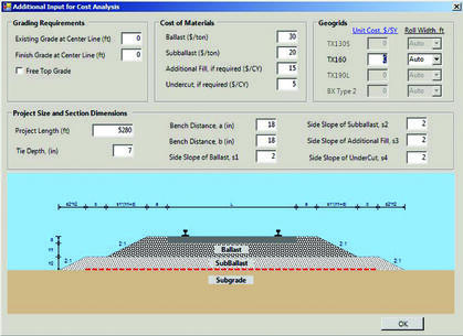 SpectraRail Software for Rail Design