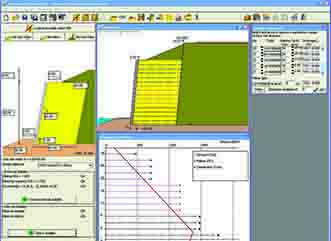 TensarSoil Website Screen Shot of Software