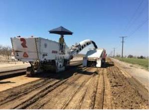 Tensar Resarch Summary California Recycled Aggregate Base Materials Site Photo 1