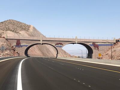 Tensar Provides ARES® Retaining Wall Systems for Boulder City Bypass Project