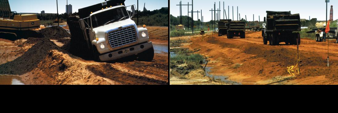 Tensar-TriAx-Geogrid-Unpaved-Haul-Access-Road-Stabilization-Soft-Soils