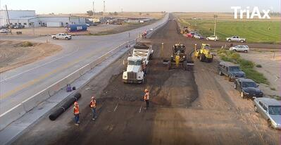 How to Install Tensar TriAx Geogrids on Roadway Projects
