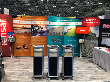 Tensar-PWX-2018-Trade-Show-Booth-Demo-Boxes-TriAx-Geogrid