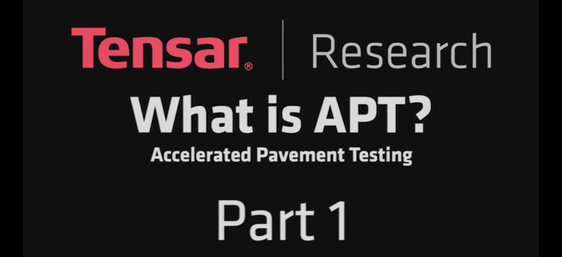 What is Accelerated Pavement Testing (APT)?