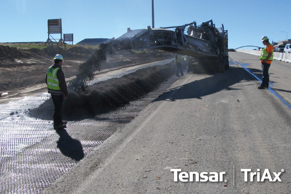 Tensar TriAx Geogrid Brings Versatility and Savings with a New Option for Using Recycled Asphalt Pavement
