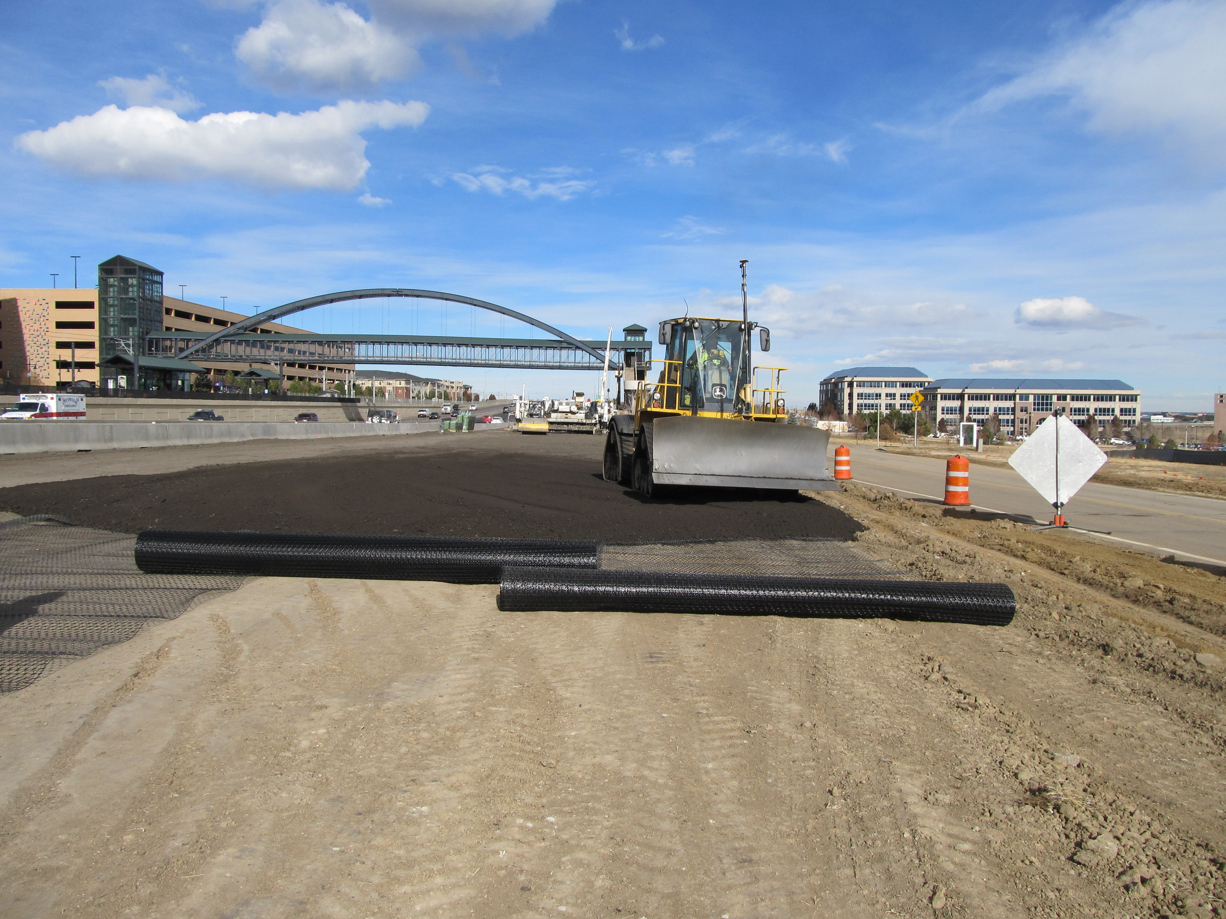 Overcoming Expansive Soils with Tensar's TriAx Geogrid